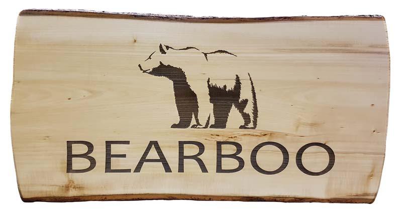 Gravure bois bear